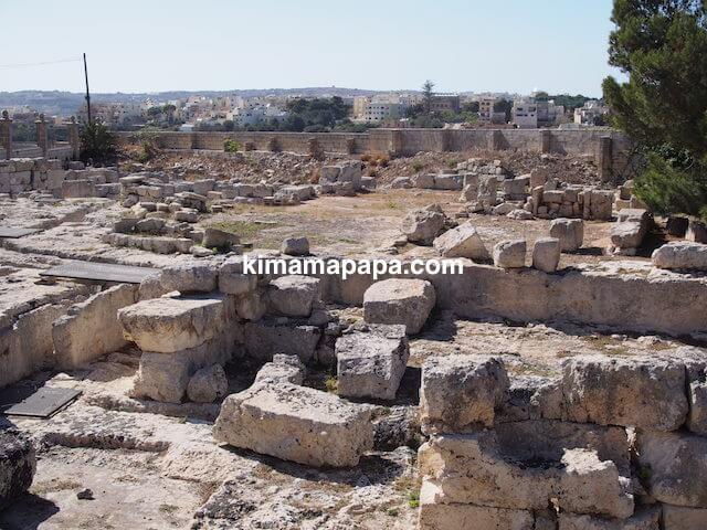 ローマ古美術館、遺跡