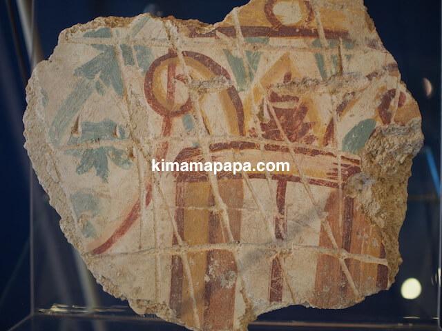 ローマ古美術館、壁画