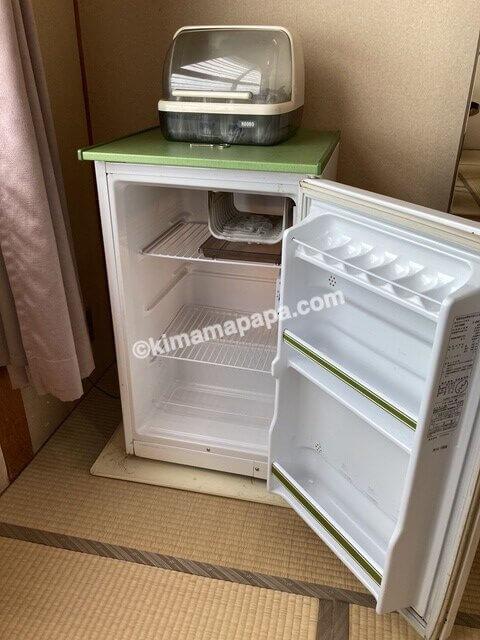芦原グランドホテル、客室の冷蔵庫