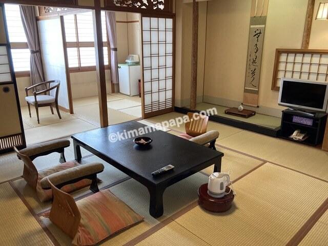 芦原温泉、芦原グランドホテルの客室