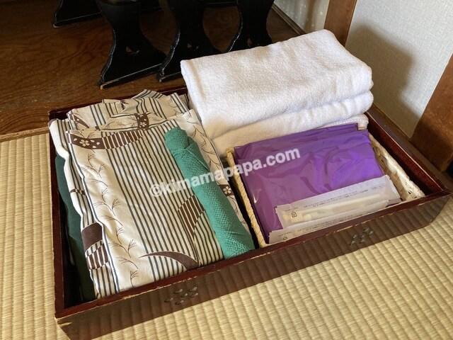 芦原温泉、芦原グランドホテルの浴衣