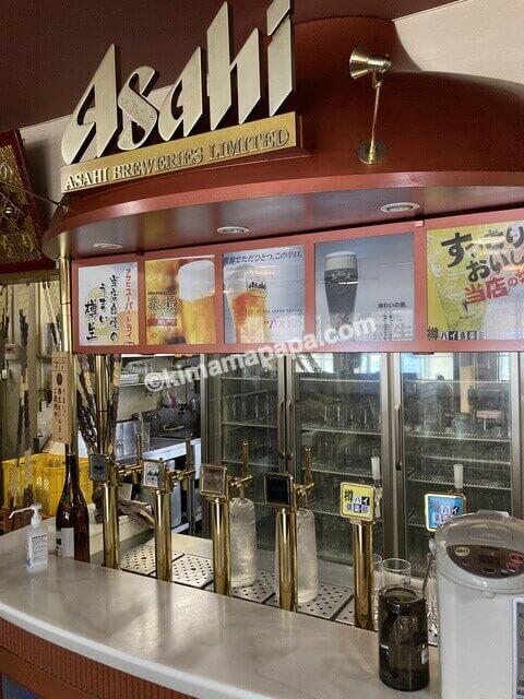 福井県、なかやのビールサーバー