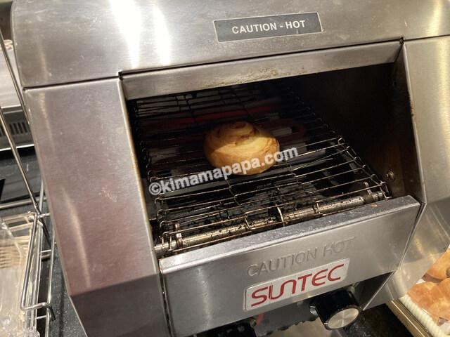 ホテルフジタ、朝食ビュッフェのパン
