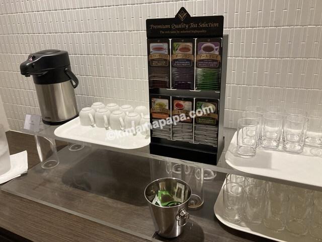ホテルフジタ、朝食ビュッフェの紅茶類