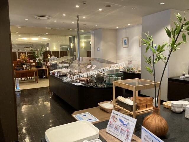 福井市、ホテルフジタの朝食ビュッフェ