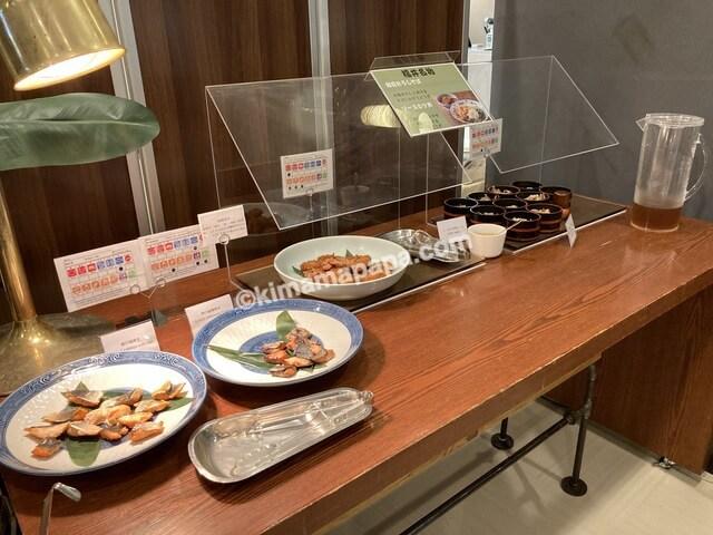 ホテルフジタ、朝食ビュッフェの焼き物系