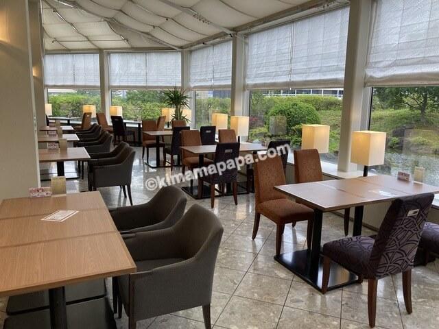 ホテルフジタ、朝食ビュッフェの会場