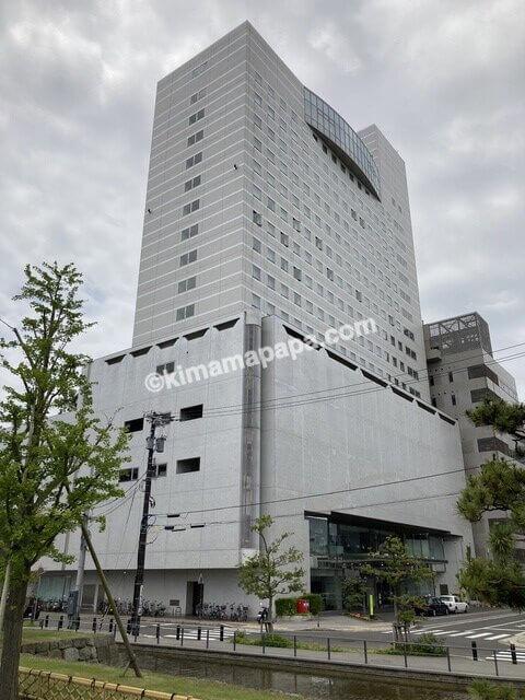 福井市、ホテルフジタの外観