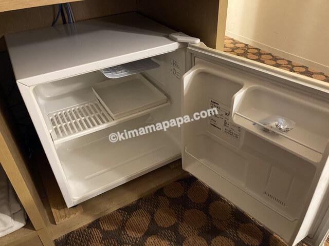 ホテルフジタ、スタンダードルームの冷蔵庫