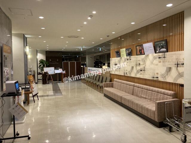 福井市、ホテルフジタのロビー
