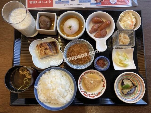 福井市、ホテルリバージュアケボノの朝食