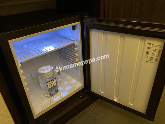 ホテルリバージュアケボノ、客室の冷蔵庫
