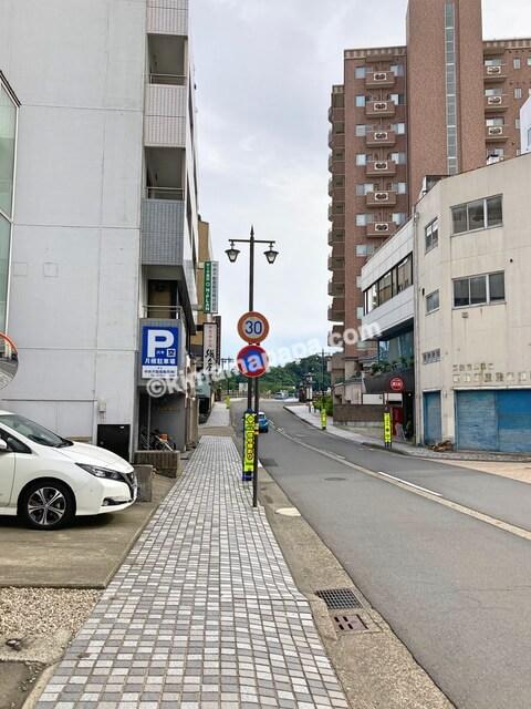 福井市、福井駅から浜町までの道