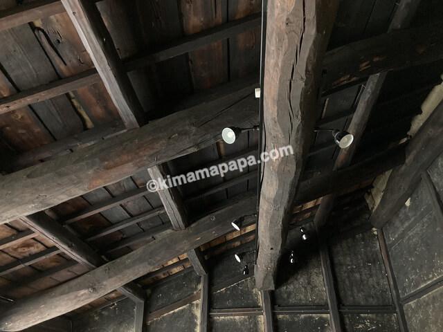 今庄宿、六助の天井
