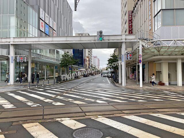 福井市、クッチーナまでの道