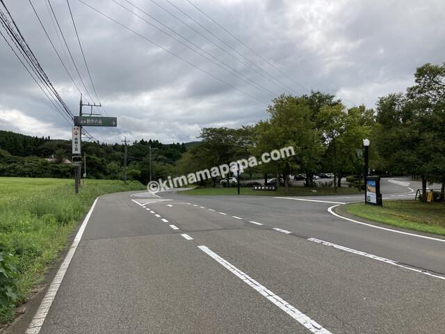 福井県金津創作の森美術館、入口
