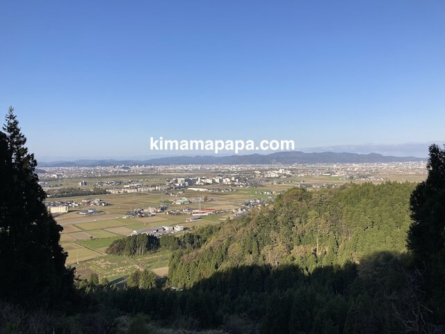 丸岡町竹田、福井市の全景