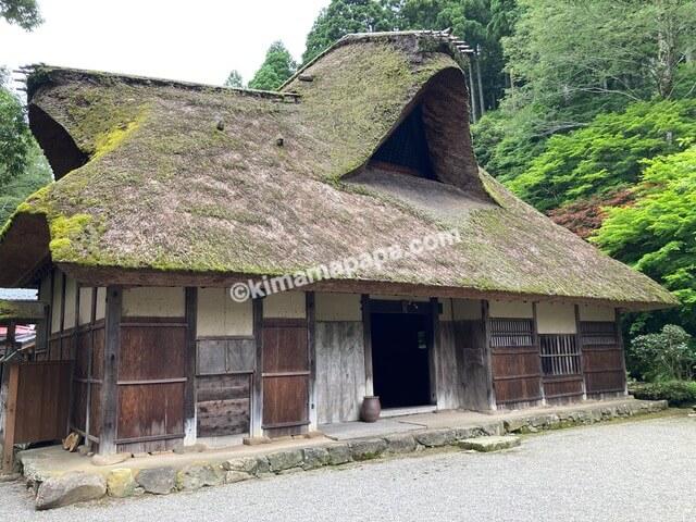 福井県丸岡町、千古の家