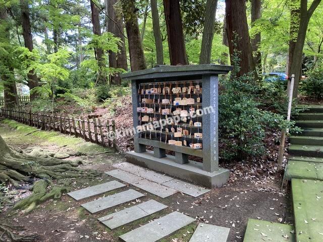 福井県三国町、三国神社の絵馬