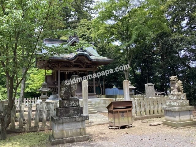 福井県三国町、三国神社の木立神社