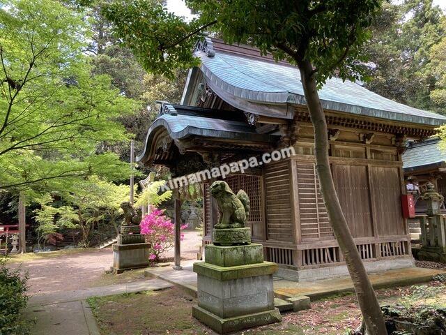 福井県三国町、三国神社の八幡神社