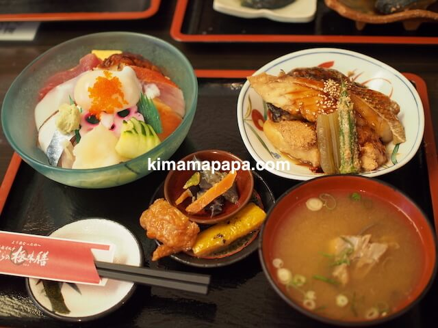 福井県三国町、富士寿司の海の極味膳