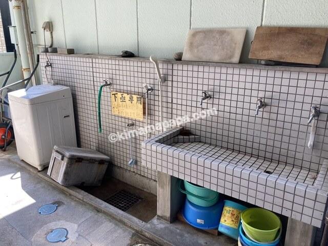 小浜市阿納、下亟の外シャワー
