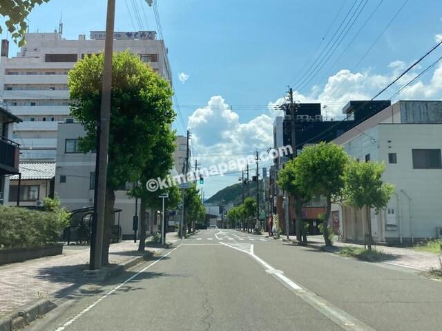 小浜市の平成通り