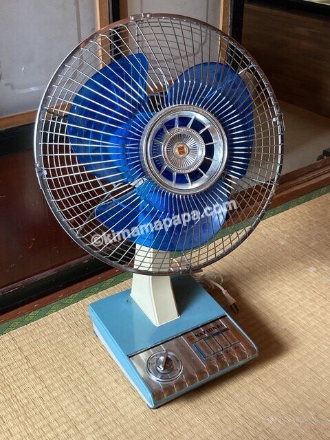 福井県大野市、ナマケモノの扇風機