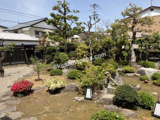 大野市、おがまちの日本庭園