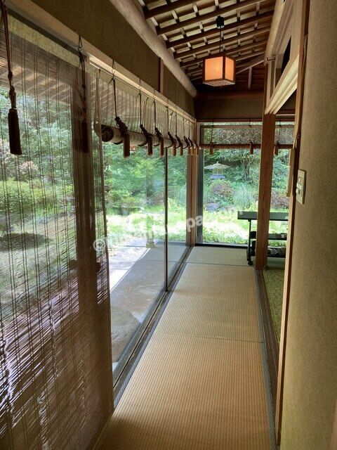 寿楽山、個室の入口