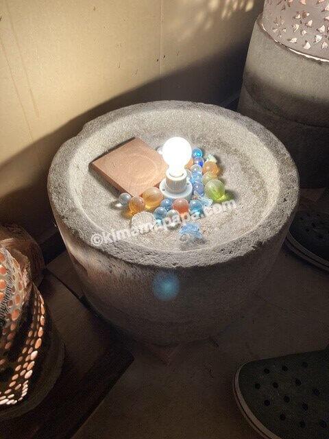 大野市、内田製麺所のランプ