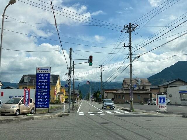 福井県大野市、三番通り