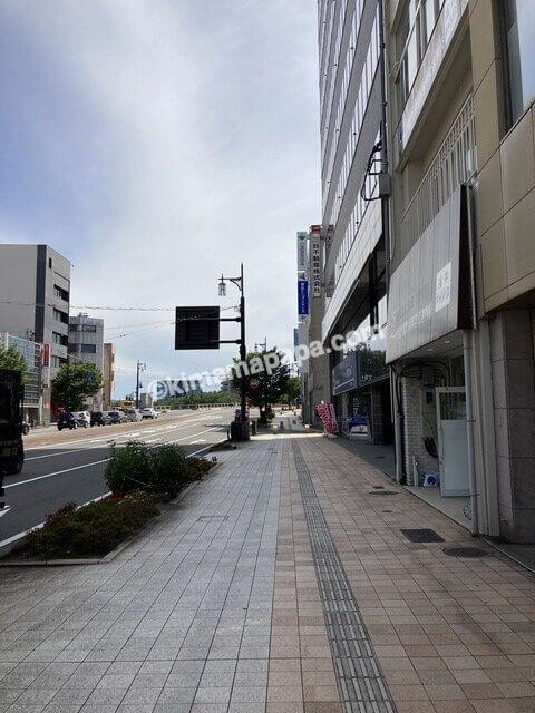 福井市、浜町までの道