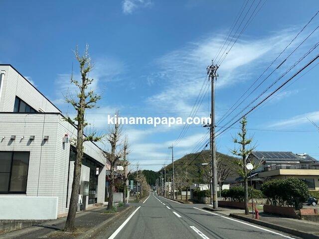福井県鯖江市、二男坊までの道