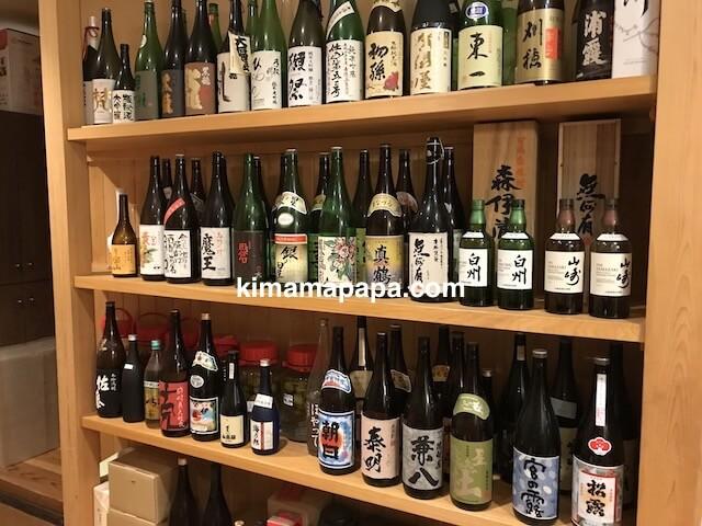 福井市、かくれ庵の日本酒