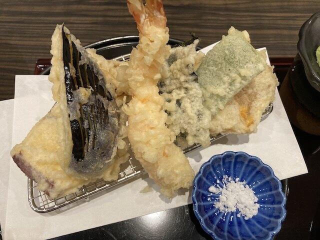 福井市、やすたけの天ぷら