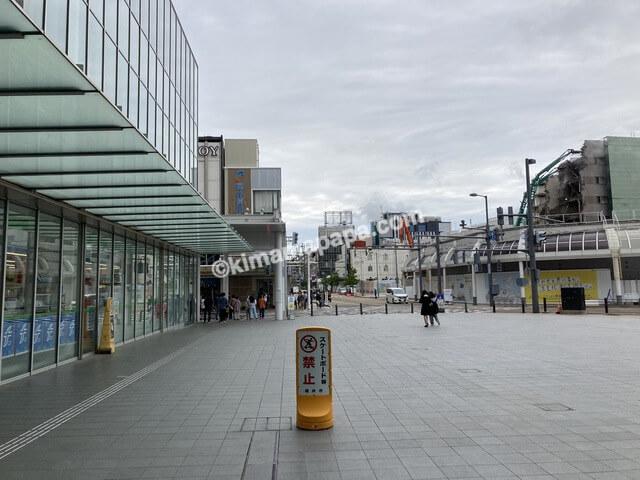 福井市、ハピリン前広場