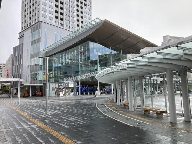 福井市、福井駅西口広場