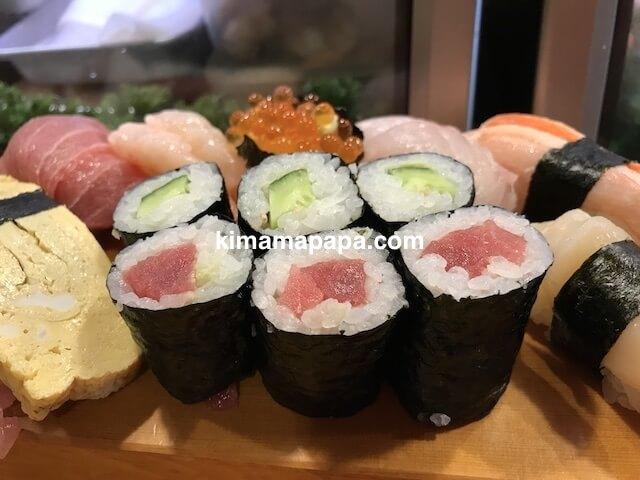 福井、吉野寿司の上にぎり