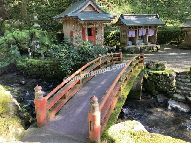 福井県永平寺、永平寺川にかかる橋