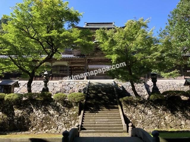 福井県永平寺、中雀門