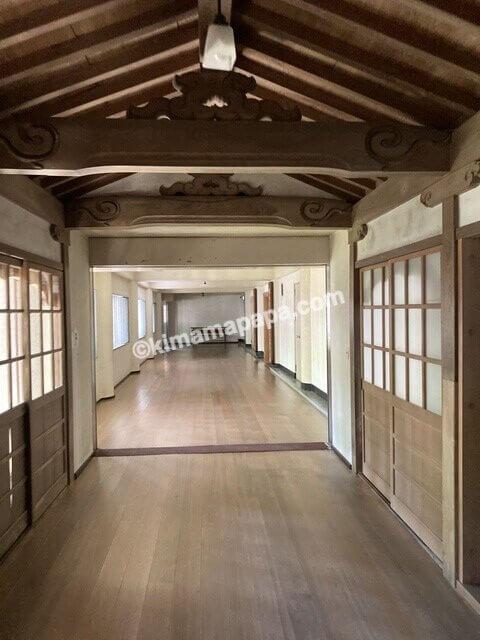 福井県永平寺、承陽殿への通路