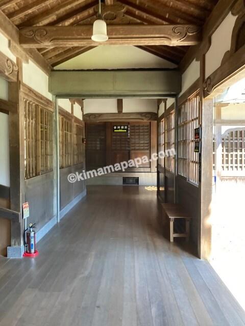 福井県永平寺、庫院への通路