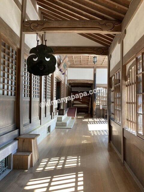 福井県永平寺、山門への通路