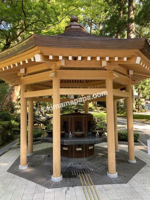 福井県永平寺、手水舎