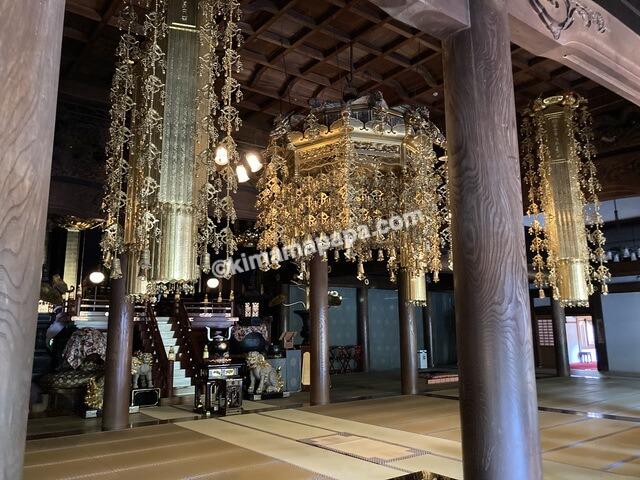 福井県永平寺、法堂内部