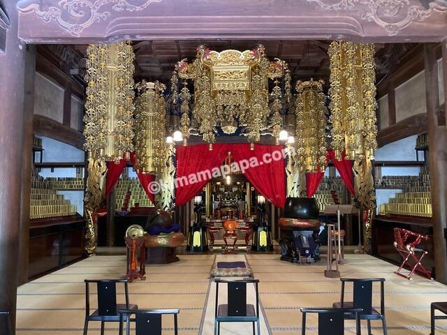 福井県永平寺、祠堂殿