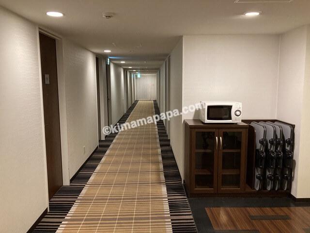 敦賀マンテンホテルの通路