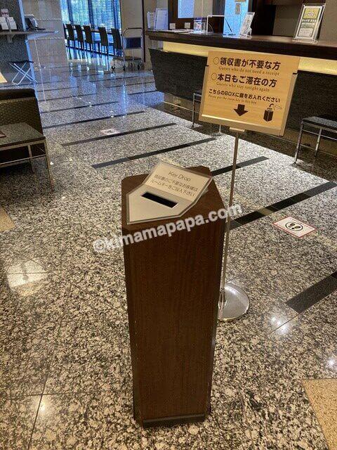 敦賀マンテンホテルのキードロップ